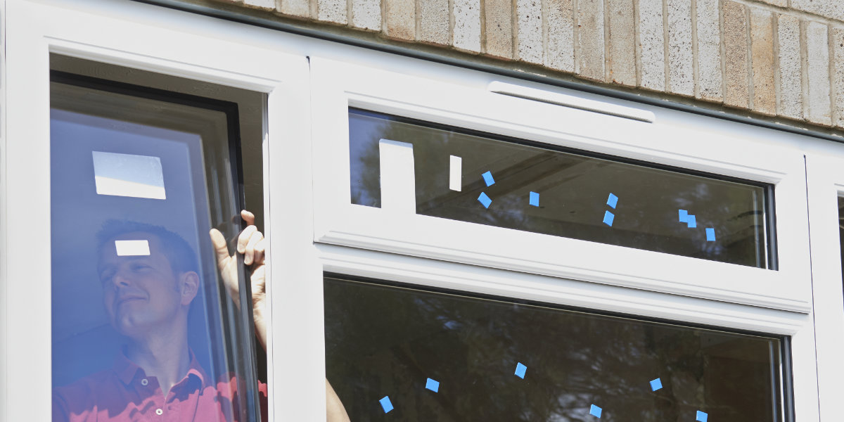 installing windows with trickle vents